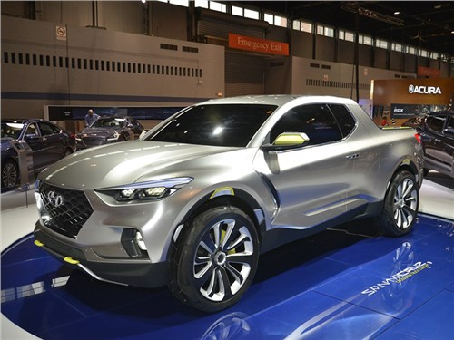 Hyundai отложил выпуск пикапа