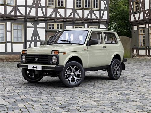 Юбилейную Lada 4x4 теперь можно купить