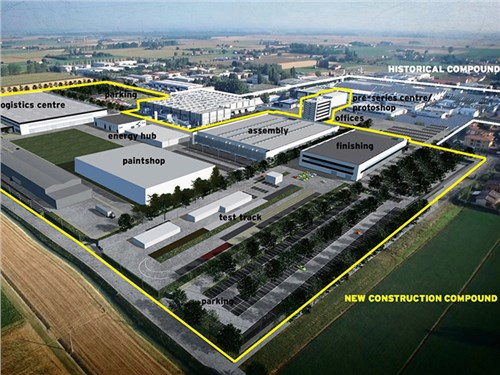 Lamborghini построит новый цех из-за кроссовера Urus