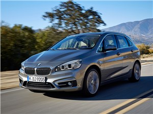 Предпросмотр bmw 2 series active tourer 2014 вид спереди фото 1