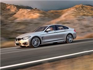BMW 4 Series Gran Coupe 2014 вид сбоку фото 1