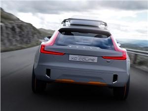 Предпросмотр volvo xc coupe concept 2014 вид сзади фото 2