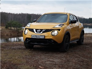 Nissan Juke - Nissan Juke 2015 вид спереди