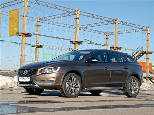 Volvo V60 Cross Country - volvo v60 cross country 2015 процедура омоложения