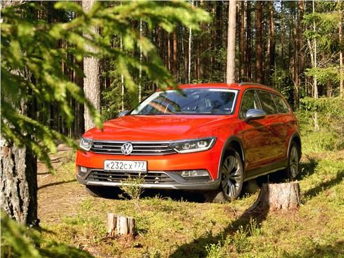 Volkswagen Passat Alltrack - volkswagen passat alltrack 2016 вторая производная