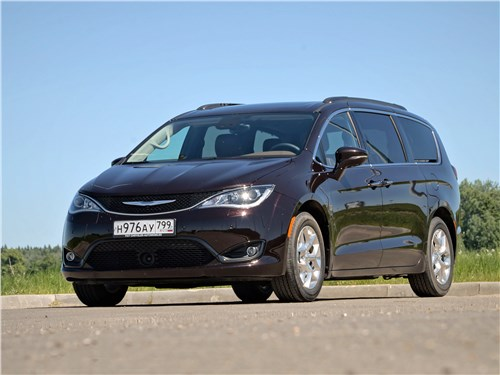 Chrysler Pacifica - chrysler pacifica 2017 кубометры и километры