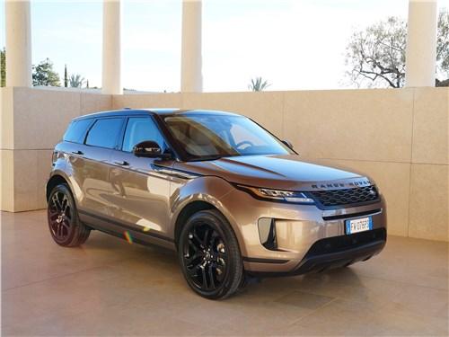 Land Rover Range Rover Evoque 2020 вид спереди