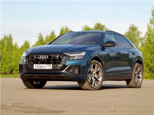 Audi Q8 - audi q8 2019 истребительница танков