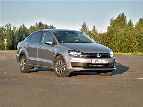 Volkswagen Polo Sedan - volkswagen polo sedan 2016 между прошлым и будущим