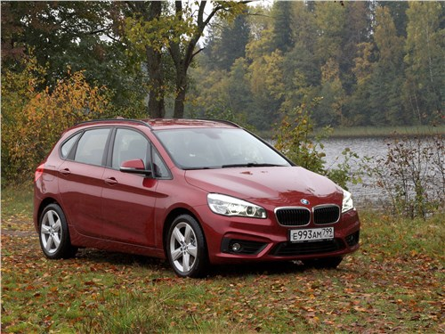 BMW 2 Series - bmw 2 series active tourer 2017 сладкая горчица