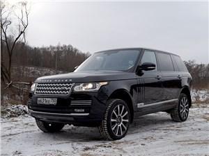 Range Rover LWB 2014 вид спереди сбоку