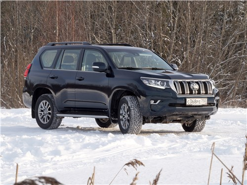 Toyota Land Cruiser Prado 2017 вид сбоку