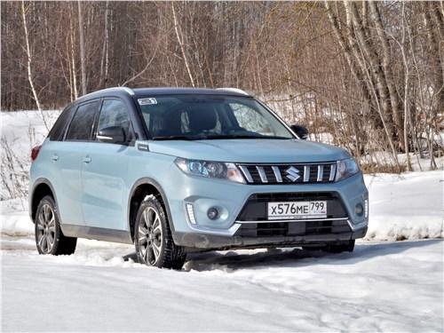 Suzuki Vitara - Suzuki Vitara 2019 вид спереди