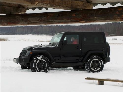 Предпросмотр jeep wrangler 2007 вид сбоку