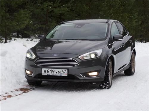 Ford Focus 2014 вид спереди
