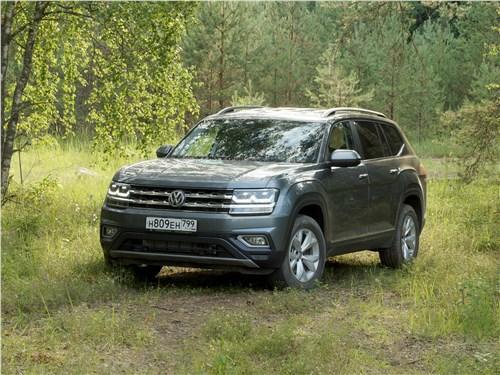 Volkswagen Teramont 2018 вид спереди