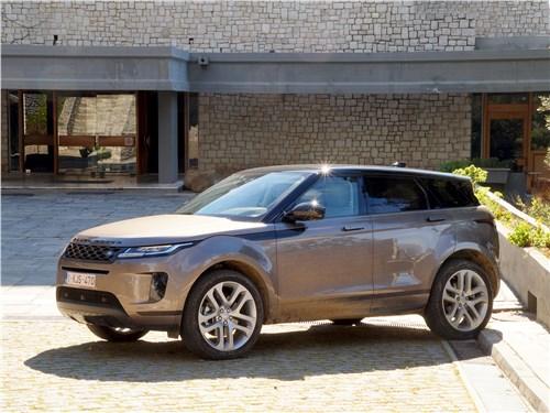 Land Rover Range Rover Evoque 2020 вид спереди сбоку