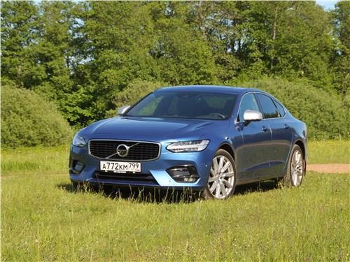Volvo S90 - Volvo S90 2019 вид спереди