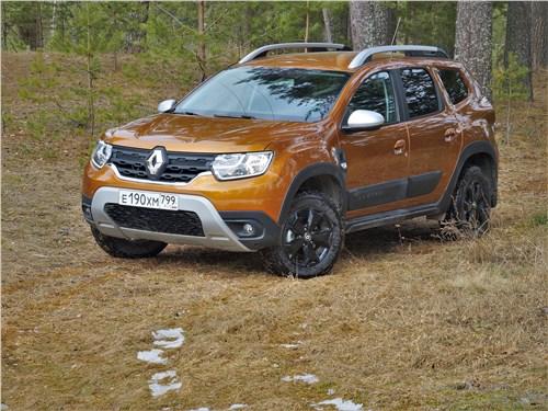 Renault Duster - renault duster (2021) вид спереди