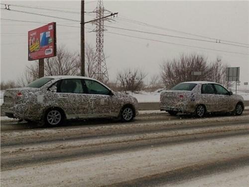 АвтоВАЗ тестирует обновленную Lada Granta