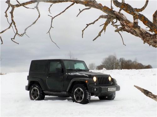 Предпросмотр jeep wrangler 2007 вид спереди сбоку