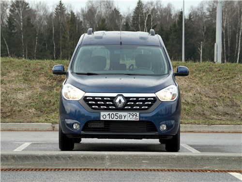Renault Dokker 2018 вид спереди