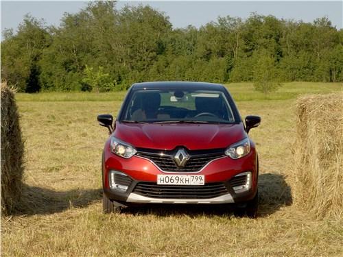 Renault Kaptur 2016 вид спереди