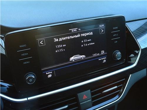 Volkswagen Polo (2020) монитор