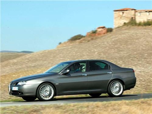 Итальянские скороходы (Alfa Romeo145-146, Alfa Romeo 147, Alfa Romeo 156, Alfa Romeo 166) 166 -