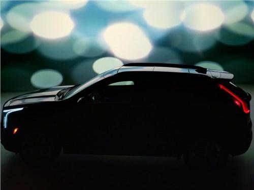 Cadillac показал дизайн своего маленького кроссовера