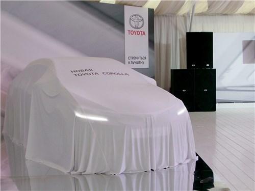 Toyota Corolla 2017 перед презентацией