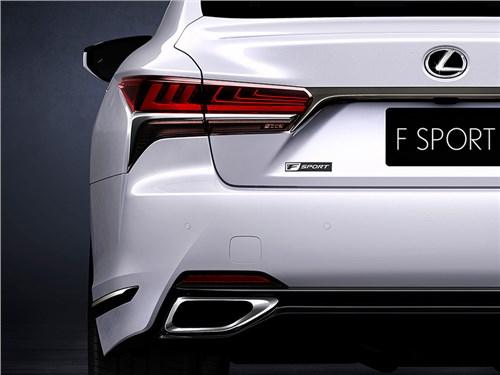 Lexus LS получит спортивную версию