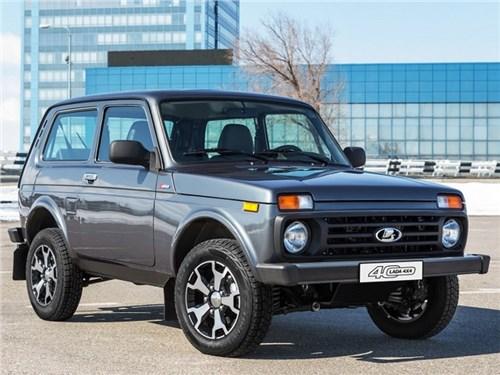 Lada 4x4 получит юбилейную спецсерию