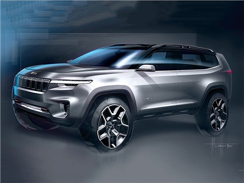 Новость про Jeep - Jeep Cloud concept 2017