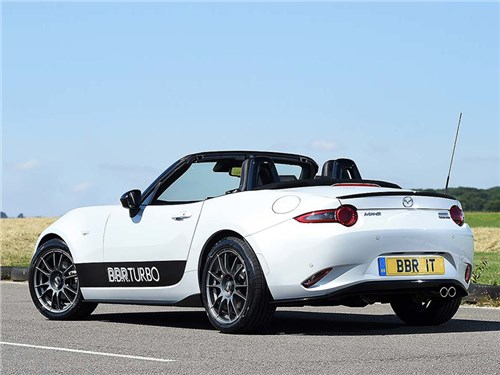 Новость про Mazda MX-5 - Mazda MX-5 BBR Turbo