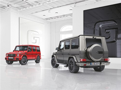 Новость про Mercedes-Benz G-Class - Mercedes-Benz G-класса
