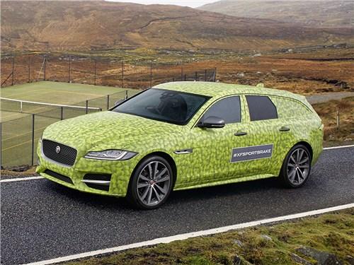 Jaguar показал универсал XF