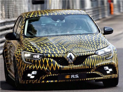 Новость про Renault Megane - Renault Megane R.S. 2018
