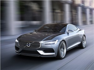 Предпросмотр volvo coupe концепт 2013 вид спереди фото 2