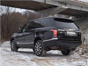 Range Rover LWB 2014 вид сзади сбоку