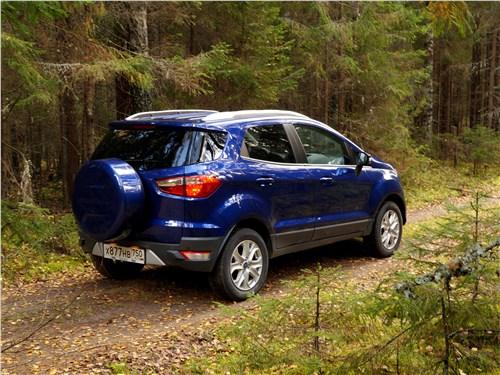 Ford EcoSport 2013 вид сбоку