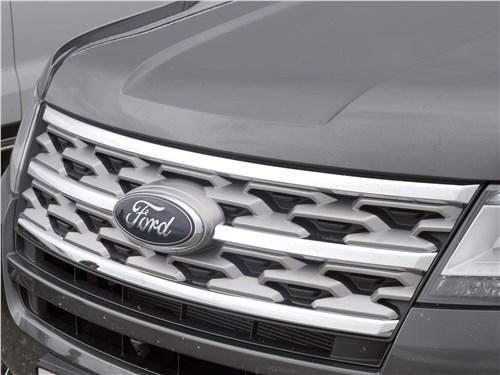 Предпросмотр ford explorer 2018 решетка радиатора