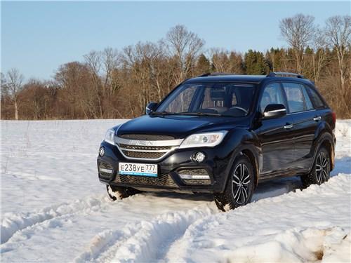 Lifan X60 FL продемонстрировал неплохую тягу в тяжелом весеннем снегу…