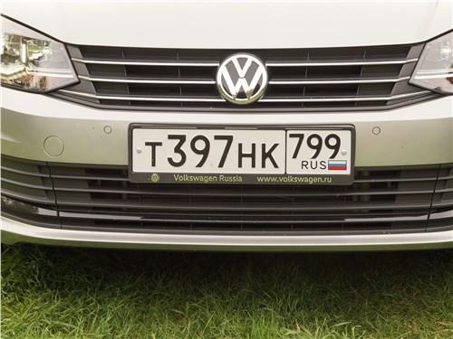 Volkswagen Polo Sedan 2016 решетка радиатора