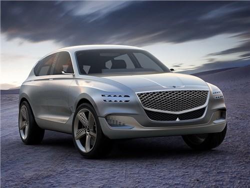 Genesis показал будущего конкурента BMW X5