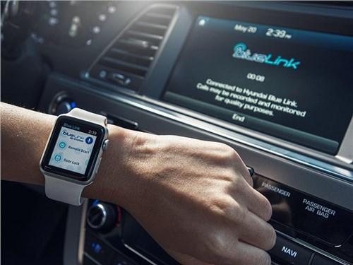 Новость про Hyundai - Blue Link Agent