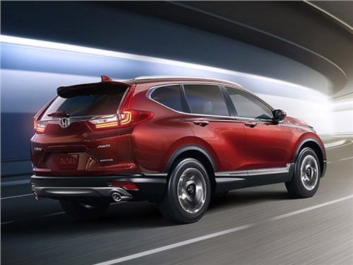 Стали известны подробности о новой Honda CR-V для России