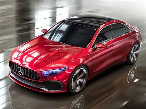 Новость про Mercedes-Benz - Mercedes-Benz A Sedan Concept 2017
