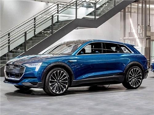 Новость про Audi - Audi Q6 e-tron 2018