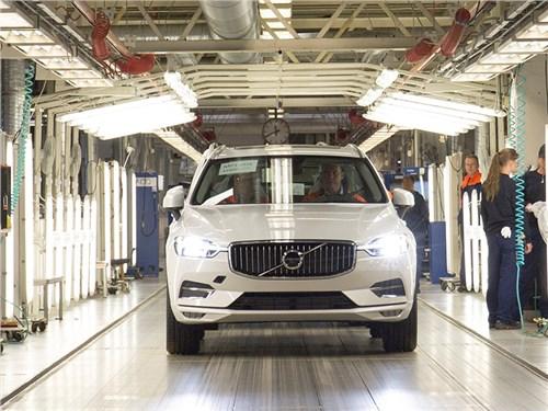 Volvo начала серийное производство нового поколения XC60